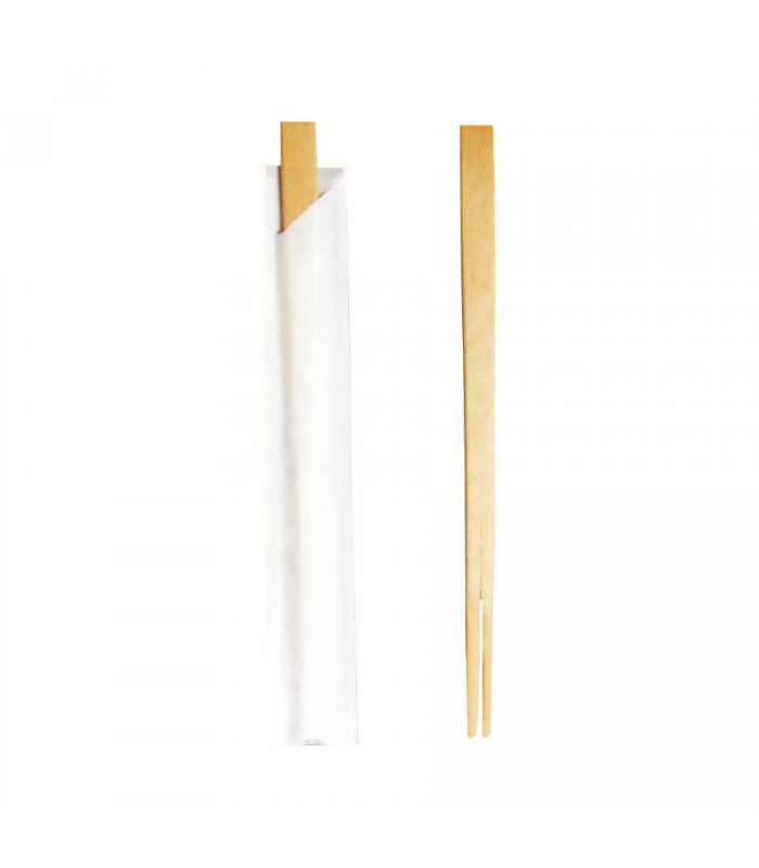 Bacchette cinesi in legno imbustate singolarmente