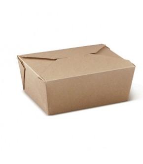 """Contenitore in cartoncino kraft avana per alimenti grassi e umidi """"PAIL BOX"""""""