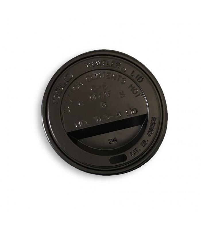 Coperchio per bicchiere in cartoncino Traveler Black
