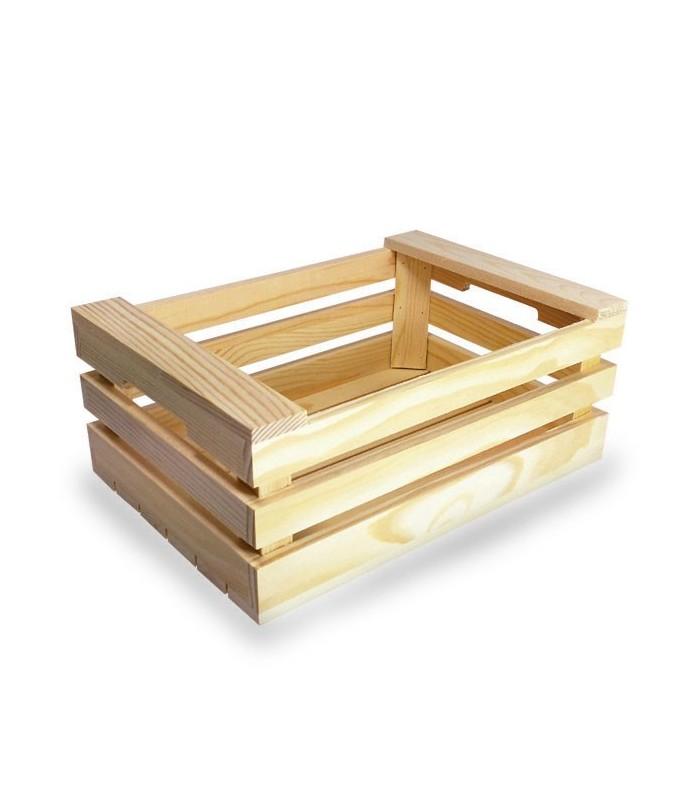 Cassetta in legno per pane o aperitivi
