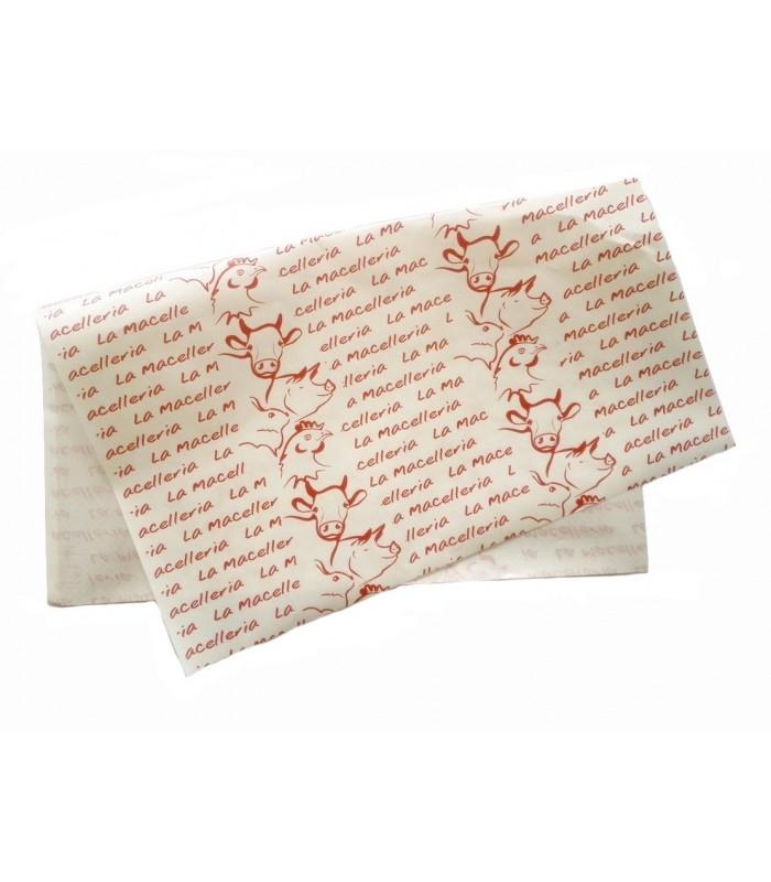 Carta accoppiata stampa animali
