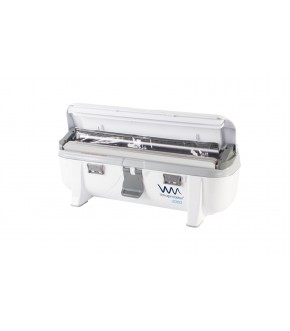 Dispenser professionale per pellicola trasparente a rotolo