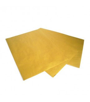 Brown paper sheet for fried food