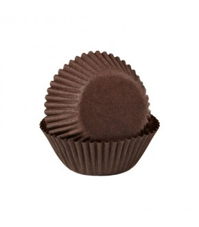 Brown paper cupcake/muffin cases