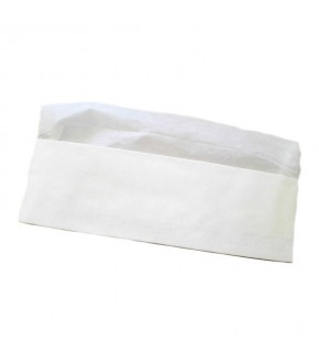Paper White Chef Hat Disposable Cooking Hat