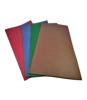 Tovaglie damascate in carta accoppiata vari colori 100 x 100 cm