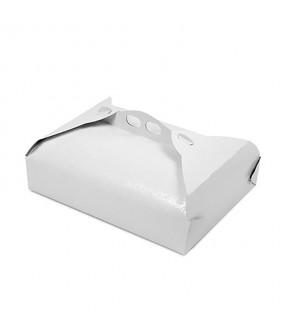Scatola porta paste in cartoncino bianco ramage
