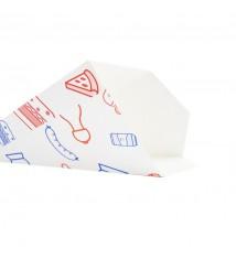 White paper box for hamburger XL