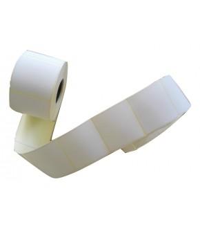 Roll labels white sticks 450 pc