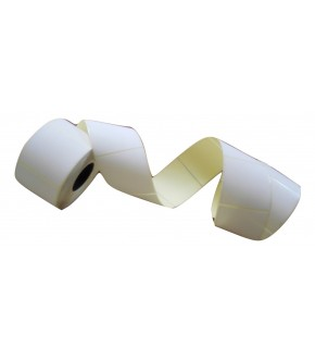 Roll labels white sticks 1000 pc