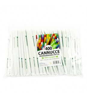 CANNUCCE IN PLA BIODEGRADABILI E COMPOSTABILI