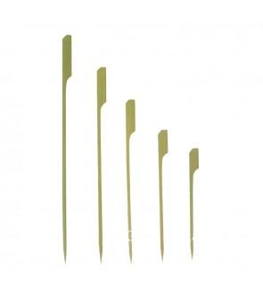 Spadine in bamboo per stuzzicherie in varie misure