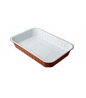 Aluminium Food Container double colour