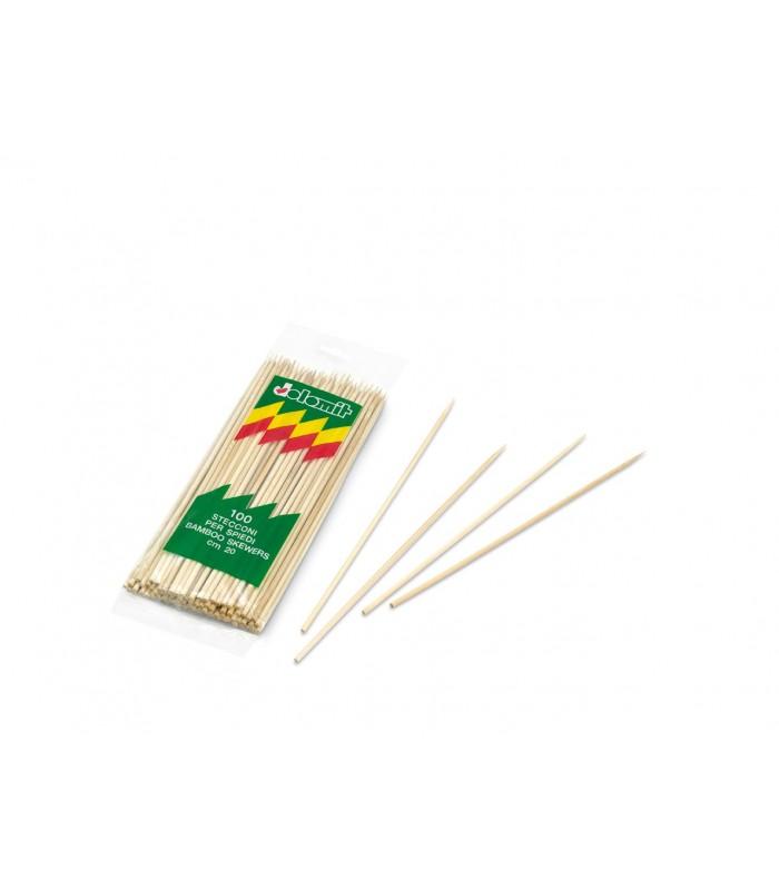 Spiedo bamboo da 100 pz.