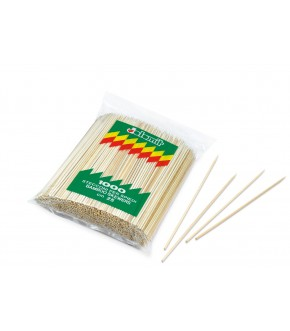 Stecche in bamboo per spiedini e arrosticini da 1000 pz.