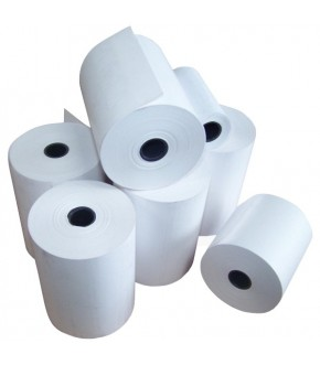 Roll thermal stick paper for elettric scale