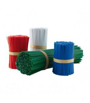 plastic bag closure clip/plastic twist tie