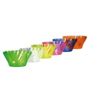 Coppetta gelato in plastica linea primavera colori vari
