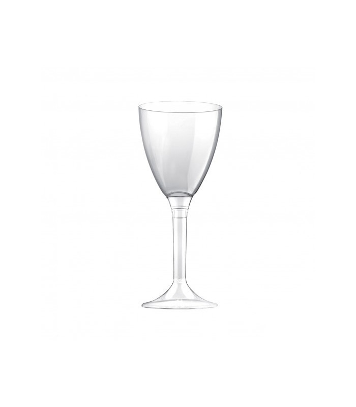 Calice trasparente in plastica componibile 180 cc