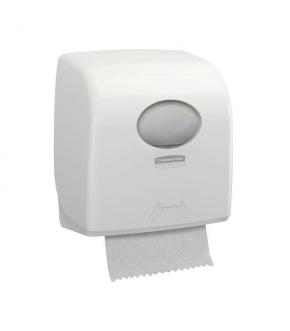 Dispenser asciugamani Kimberly-Clark Professional Aquarius Slimroll Bianco