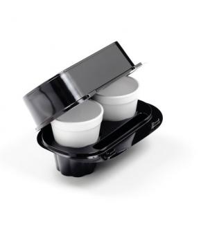 take away cappuccino plastic box