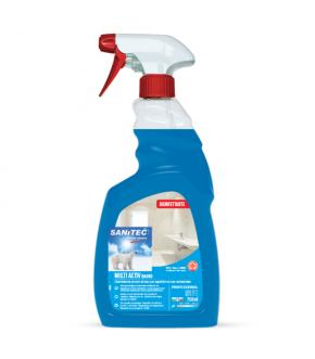 Acid Alkaline Detergent, Sanitizing Bi-Active MULTI ACTIV BATHROOM