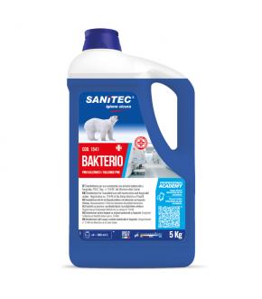 Disinfectant-cleaner-freshener profumed bacterio