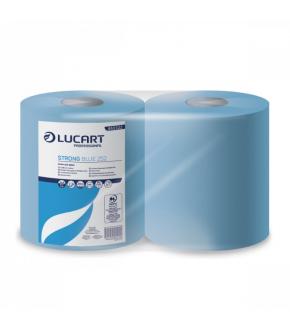 blue paper roll 252  STRONG BLUE LUCART