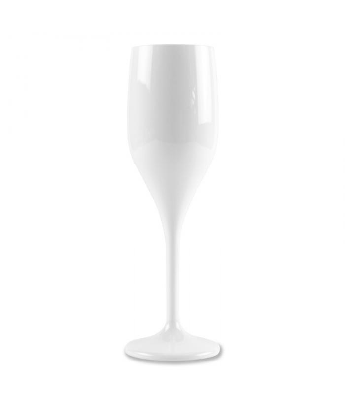 Bicchiere flute bianco 150 cc
