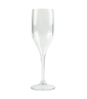 Reusable champagne glasses in main colours
