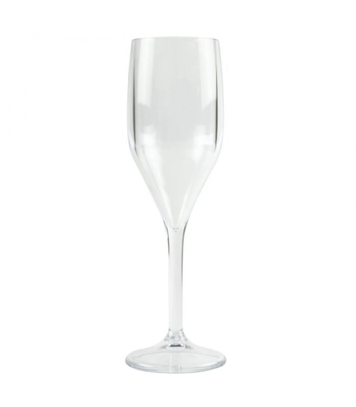 Bicchiere flute trasparente 150 cc