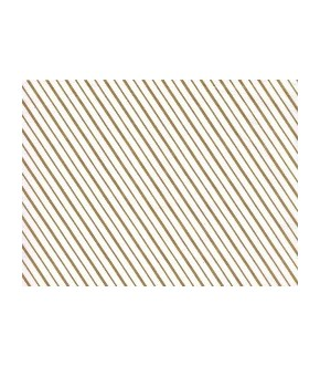 White pelleaglio paper with golden lines
