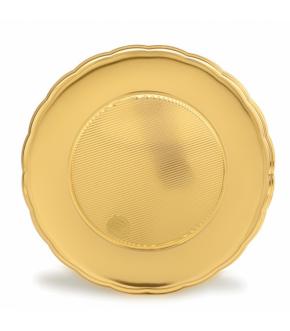 Gold round plastic cake board REORO