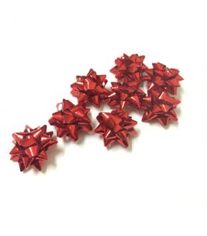 Fiocchi regalo microstelle adesivi in vari colori