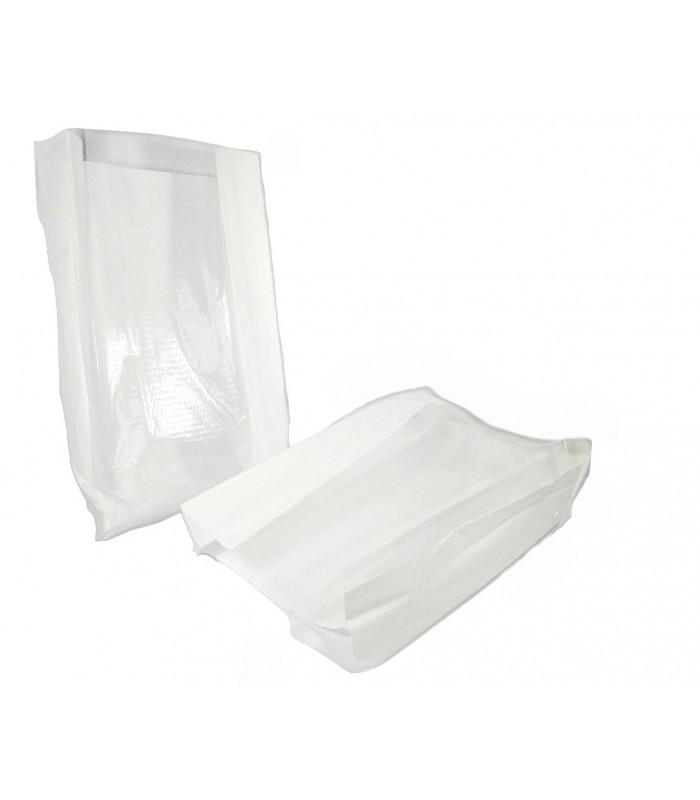 Sacchetti in carta bianca microforati