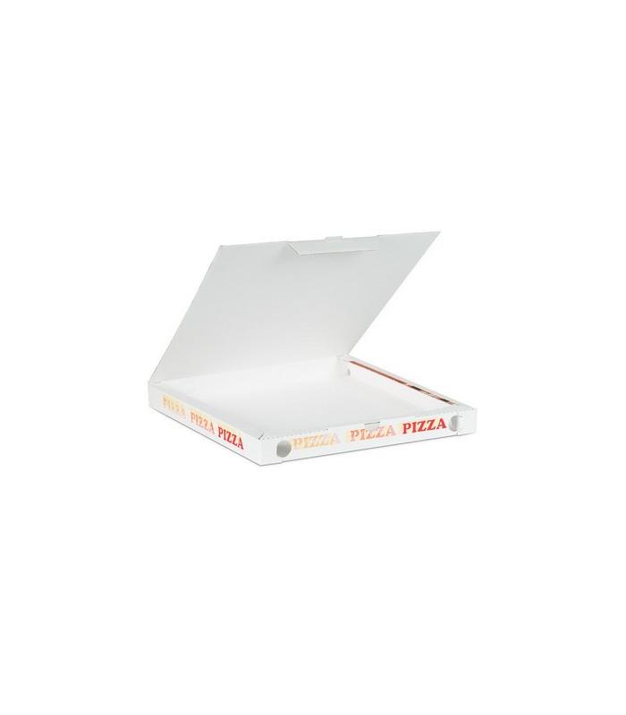 Scatole porta pizza con coperchio, 100% vegetale, in vari formati