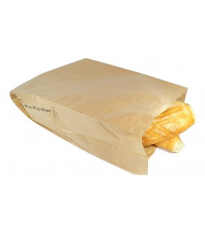 Brown paper small gift bags for food