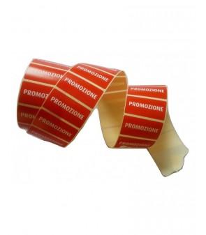 """Roll laber red sticks for discount """"PROMOZIONE"""""""