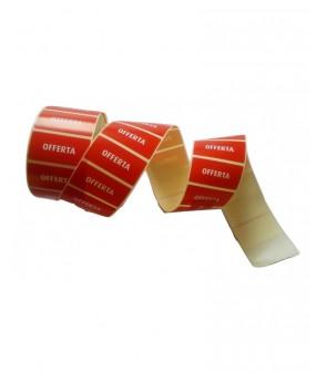 Rotolo etichetta adesiva OFFERTA da 1500 pz