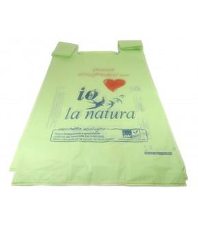 Buste shoppers IPERMAXI 35X64 mater-bi compostabili