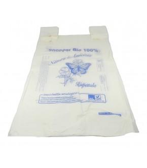 Buste shoppers maxi 30x60 mater-bi compostabili