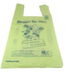 Buste shoppers mater-bi 100% biodegradabili e compostabili per pescheria