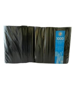 Cannucce rigide in plastica vari colori - 21 cm