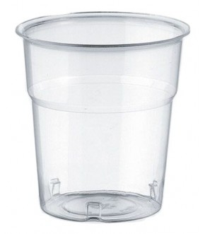 Disposable plastic pint glasses KRISTALL, ISAP